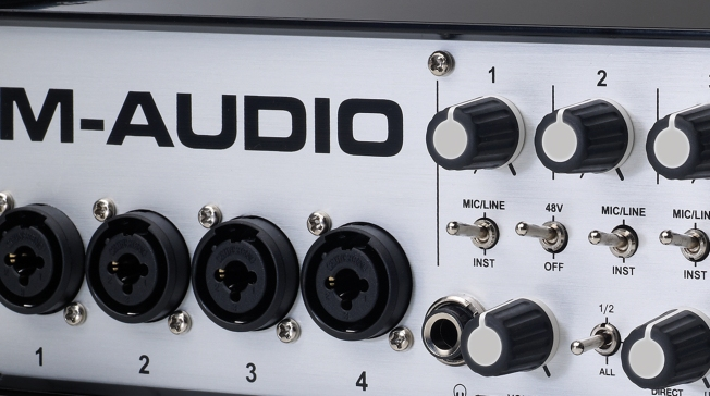 M-Audio M-Track Quad Feature Image
